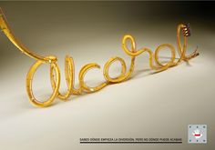 """""""You know where the fun begins, but not where it could end.""""  by DDB Madrid for Fundación de Ayuda contra la Drogadicción. #alcohol #drinking #driving"""