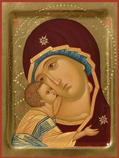 Mother of God of the Don 11×14 cm, To order. Catalog of St. Elisabeth Convent…