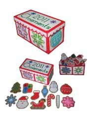 plastic canvas ornaments with keepsake box
