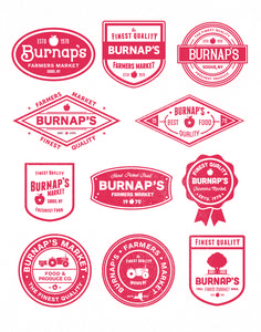 trendgraphy: Burnaps by Nick Slater Beer Branding Design, Vintage Logo Design, Branding Design Logo, Badge Design, Seal Design, Typography Branding, Badge, Branding Design Inspiration, Sticker Design