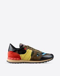 Sneaker Valentino Garavani Rockrunner Psychedelic Camouflage