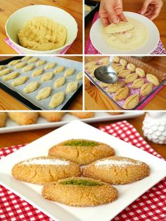 Sherbet Almond Dessert (with video) Turkish Recipes, Italian Recipes, Turkish Sweets, Fish And Meat, Sweet Sauce, Fresh Fruits And Vegetables, Iftar, Cookies, Breakfast Recipes