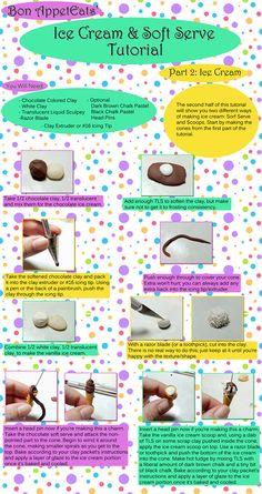 DIY Polymer Clay Ice Cream and Soft Serve Tutorial