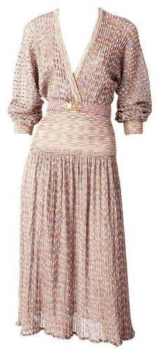 Vestido de Missoni, 1970 1stdibs.com