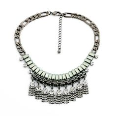 #AdoreWe Few Moda, Minimalistic Fashion Brands Online - Designer Few Moda PINUP FRINGE SAPPHIRE STRAND - AdoreWe.com