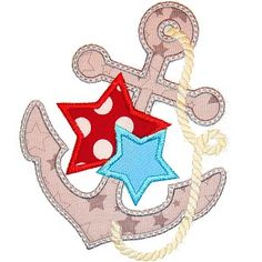 All Appliques - Anchor and Stars