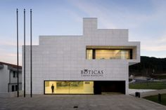 Boticas Town Hall / Belém Lima Architects  /// Civique contemporain ///