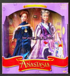 Anastasia and Empress Marie Together Key to the Past Gift Set