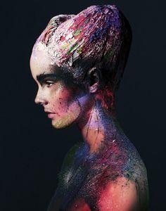Julia Valimaki by Bjarne Jonasson for Wonderland September-October 2012  stunning