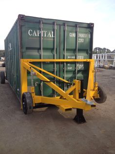 Shipping Container Draw Bar in Industrial, Material Handling, Shipping Containers Container Office, Container Shop, Container House Design, Shipping Container Buildings, Shipping Container House Plans, Shipping Containers, Sea Containers, Container Conversions, Container Architecture