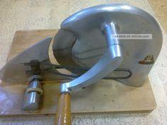 Brotschneidemaschine Brotmaschine Brunner Aluminium Allesschneider Alt Ddr ? Haushalt Bild
