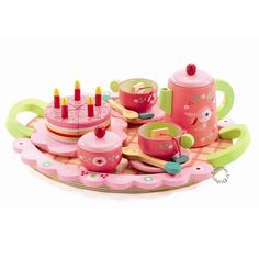 Lil Rose's teaparty - Djeco (6639)
