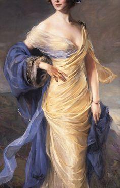 Eileen Sutherland-Lawson-Gower by Philip de Laszlo,1913
