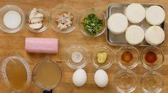 ぷるるん食感にほっぺた落ちる!まるごとかぶの茶碗蒸し - macaroni Eggs, Breakfast, Food, Morning Coffee, Eten, Egg, Meals, Morning Breakfast, Egg As Food