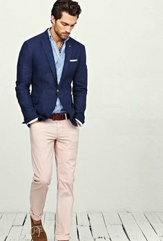 GROOMS ATTIRE: This is very similar to what Jimmy is going to wear, Grey'ish colored pants instead of light pink.