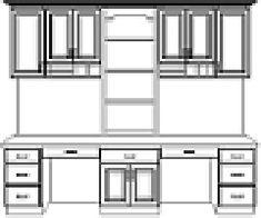 Double Desk Blueprints