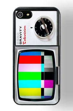 Color TV 5 iphone Case by ZERO GRAVITY by Zero Gravity
