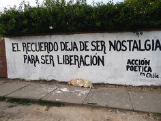 ¡Liberación!  #accionpoetica #paredes