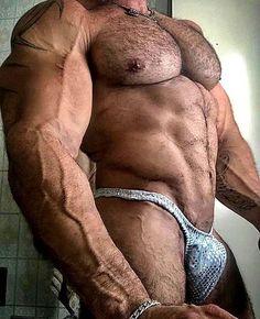 jin&Co Men Shiny Metallic Underwear Bikini Swimsuit Underpants Underwear Boxer Brief Beach Trunks