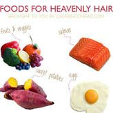 Delicious foods to keep hair healthy and beautiful. Check out this article on LaurenConrad.com