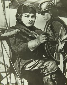 September 6, 1910: Blanche Stuart Scott makes the first solo airplane flight by a woman in the United States subsequently recognized by the Early Birds of Aviation.