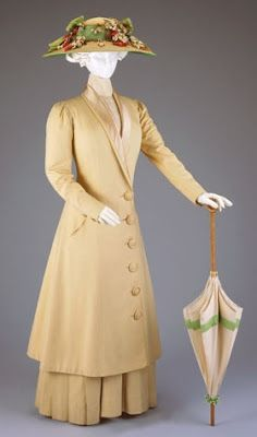 The Creative Doll: April 2008. 1915-20 walking dress and duster.