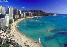 Hawaii Waikiki Beach. Spending a week here in October.