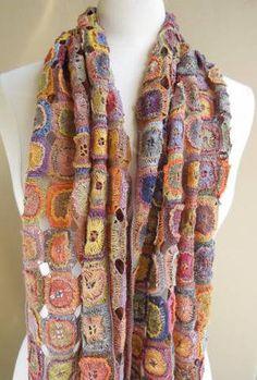 sophie digard crochet Sophie Digard Crochet Scarves: France, Madagascar and Fair Trade