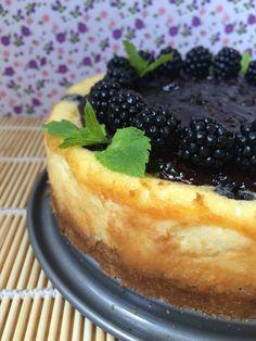 Cheesecake de naranja y moras http://mrmlada.blogspot.com.es/2016/09/cheesecake-de-naranja-y-moras.html