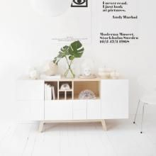 No. 216 skænk design Jesper Ståhl, Abstracta