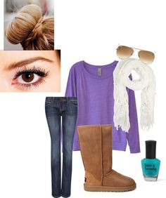"""""""Cozy Cold Saturday"""" by laz2 on Polyvore"""