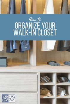 Do you dream of a luxury walk-in closet filled wall-to-wall with designer clothing? Does that dream include a swanky vanity, a fully-stocked champagne bar and maybe even a crystal chandelier? While we dream big, many of us face the reality of organizing small walk-in closets, making it important to squeeze the most from every inch of space.