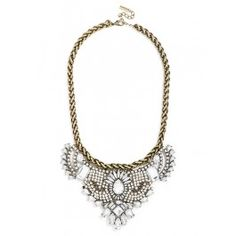 Beautiful & sparkly, everything you ever wanted in a necklace, via @baublebar