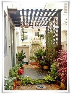 Pergola With Retractable Roof Key: 7413286169 Balcony Design, Garden Design, Back Garden Landscaping, Indoor Garden, Home And Garden, Small Patio Ideas On A Budget, Minimalist Garden, House Plants Decor, Back Gardens