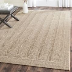 Shop for Safavieh Palm Beach Desert Sand Sisal Rug (6' x 9'). Get free shipping at Overstock.com - Your Online Home Decor Outlet Store! Get 5% in rewards with Club O! - 17556289