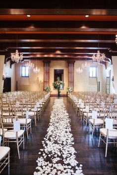 #IndoorWedding #WeddingCeremony | See the Wedding on #SMP: http://www.stylemepretty.com/arizona-weddings/scottsdale/2013/12/09/scottsdale-arizona-wedding  Gina Meola Photography