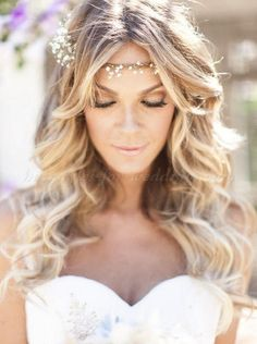 loose curls wedding hairstyles - Google Search