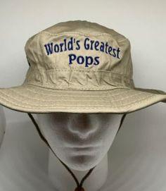 Custom Baseball Cap Worlds Best Grandpa Embroidery Casual Hats for Men /& Women