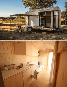 Tiny house on wheels design by kolelibo Hristina Hristova from Bulgaria exterior interior Cheap Tiny House, Buy A Tiny House, Building A Tiny House, Tiny House Cabin, Tiny House Living, Tiny House Design, Tiny House On Wheels, Tiny Houses, Timbercraft Tiny Homes
