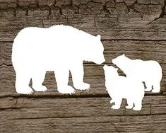 Mama bear with 2 baby cubs digital printable by ElevatedDesignShop, $5.00