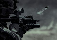 Soldier Shooting   Military