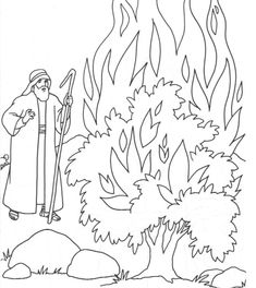 Moses is revered as the prophet in Christianity religion. The best way to hold their interest is by providing them these free printable moses coloring pages Bible Story Crafts, Bible School Crafts, Bible Crafts For Kids, Sunday School Crafts, Bible Stories, Bible Coloring Pages, Coloring Books, Adult Coloring, Burning Bush Craft