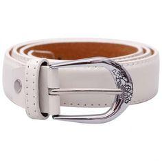 Stylehoops White Sleek Look Belt #ladiesbelt #belt #whitebelt