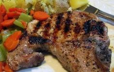 Easy Grilled Pork Chops Recipe - Recipezazz.com
