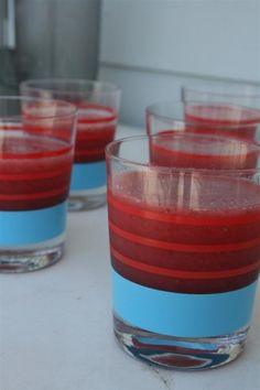 Strawberry watermelon smoothies. We need to make these! via hopefulhomemaker.com