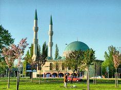 Mevlana Mosque in Rotterdam - Netherlands