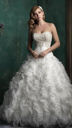 Allure Couture Fall 2015 Wedding Dress C347S