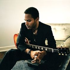 Lenny Kravitz~ Check out some of his tunes really soon. Didn't realize his was this FINE.