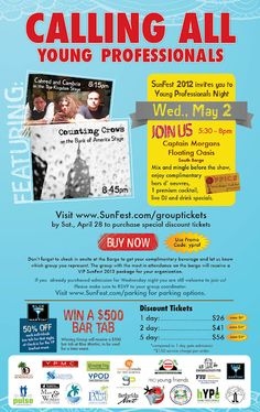 Join W2PR for SunFest 2012 http://www.w2prblog.com/2012/04/come-see-w2pr-at-sunfest-2012.html