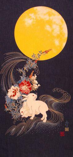 La leggenda del coniglio sulla luna